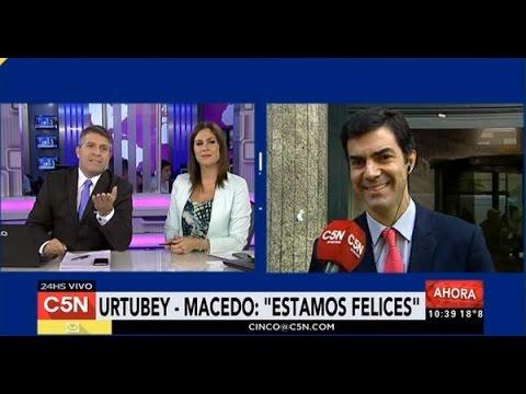 Juan Manuel Urtubey no puede parar de hablar de Isabel Macedo