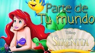 La sirenita - Parte de tu mundo | Musical Cover | El Beso del Escorpión