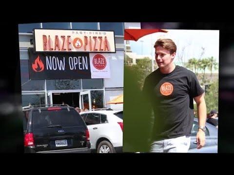 Patrick Schwarzenegger Making a Blaze in the Pizza Business   Splash News TV   Splash News TV