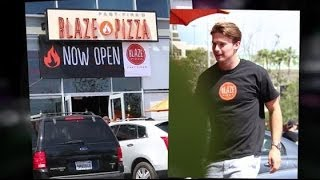Patrick Schwarzenegger Making a Blaze in the Pizza Business | Splash News TV | Splash News TV