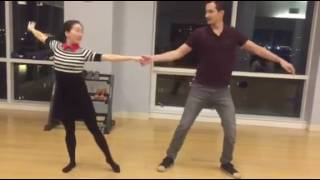Iris & Chris - Wedding dance rehearsal - with Priti Gupta-Udeshi