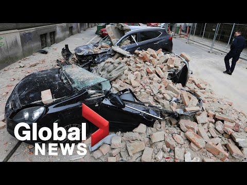 "Croatia earthquake: Zagreb hit by ""most powerful quake in 140 years"""