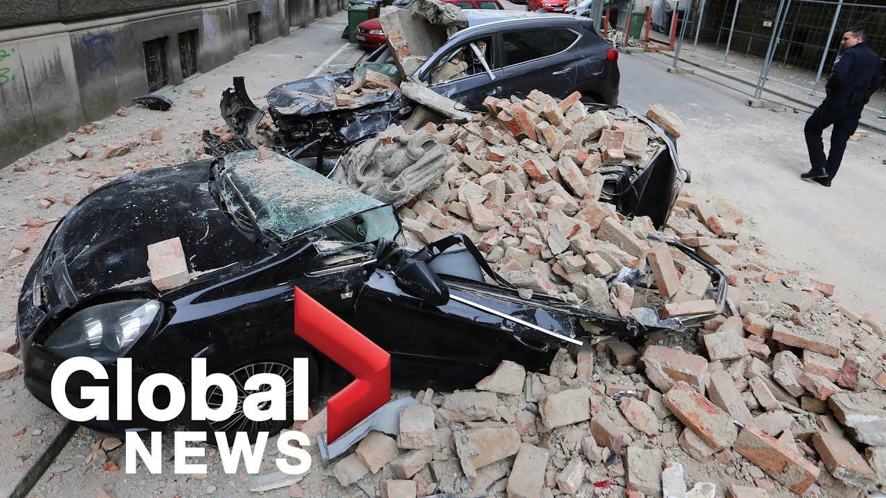 "Croatia earthquake: Zagreb hit by ""most powerful quake in 140 years"" - YouTube"