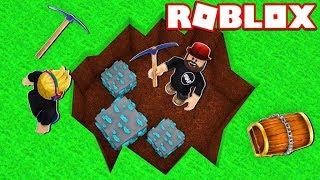 MINING DIAMONDS in ROBLOX MINING SIMULATOR!!!!
