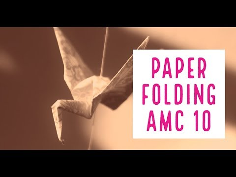 AMC 10 Paper Folding Geometry - Cheenta
