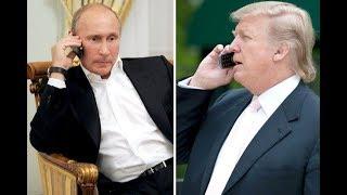 BREAKING Trump Putin talk on Phone on Syria North Korea & fighting Islamic Terrorism  November 2017