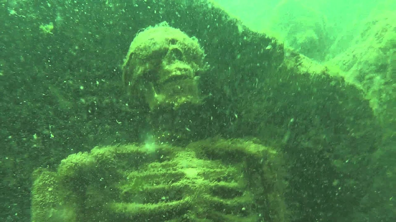 La Paz County Sheriff Find Underwater Skeleton Tea Party