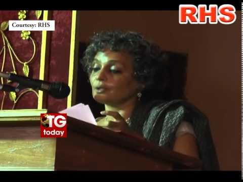 Arundhati Roy Speech on Gandhi in Kerala University