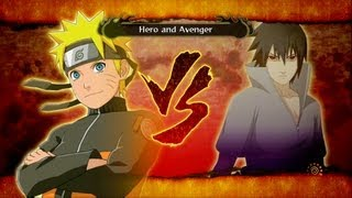 Naruto Shippuden: Ultimate Ninja Storm 3: Sasuke vs Naruto Boss Battle