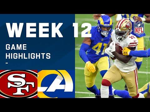 49ers vs. Rams Week 12 Highlights | NFL 2020
