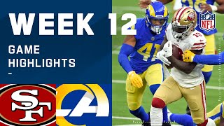 49ers vs. Rams Week 12 Highlights | NFL 2020