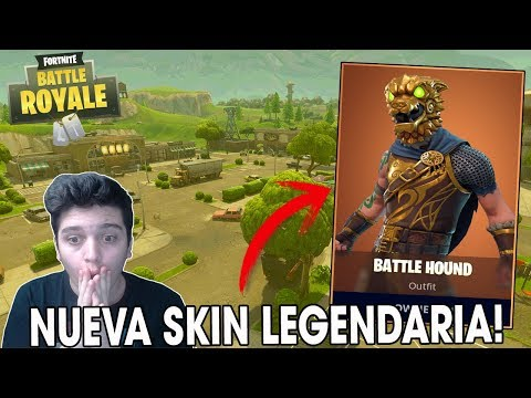 "*NUEVA* Skin Legendaria ÉPICA ""BATTLE HOUND"" - Fortnite Battle Royale Gameplay - Kod"