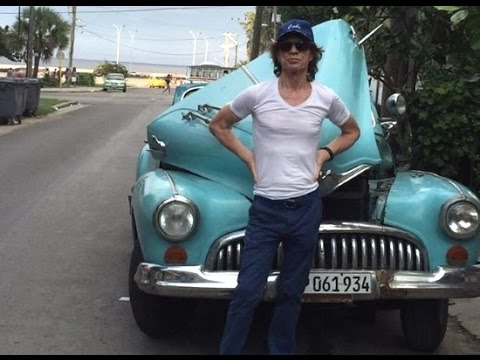Celebrities who visited Cuba in 2015