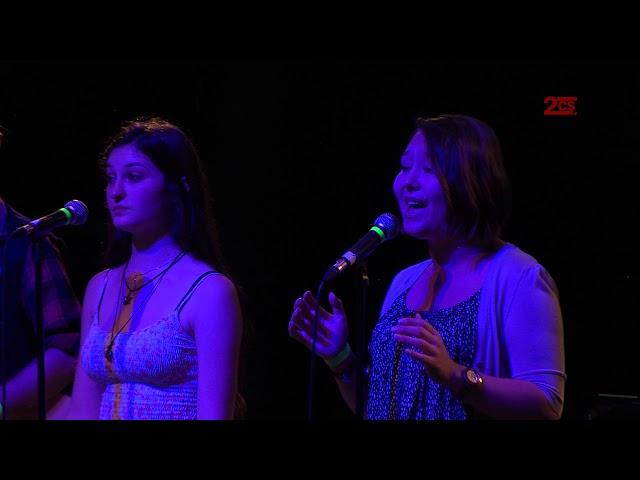 Joshua, Danielle, Alina, Justin & 2CS-Band - Swing life away | Unplugged 2016 | 2. Chance Saarland
