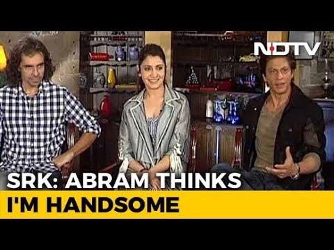 AbRam Knows That I'm An Actor: Shah Rukh Khan