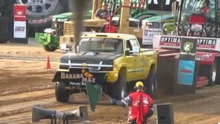 PPL Silver Series--3.0 Pro Street Diesel Trucks--Hillsboro Charity Pull Saturday 2015