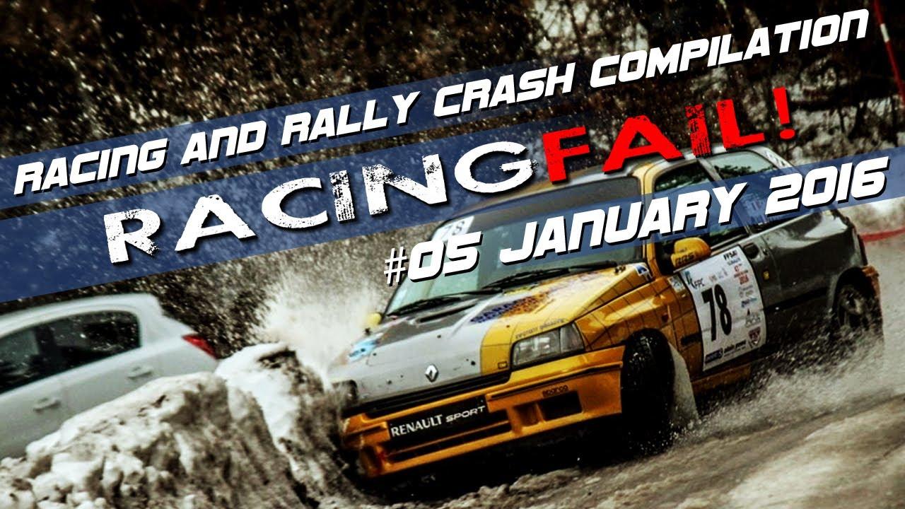 Racing And Rally Crash Compilation Week 05 January 2016