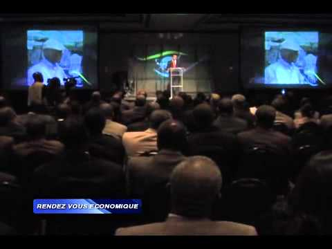 Jerry Tardieu at leadership summit in Haiti's financial and economic sphere