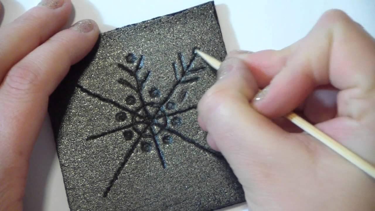 Tutorial decorazioni natalizie fai da te stampini di for Decorazioni natalizie fai da te