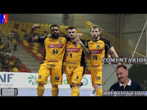 Melhores Momentos Magnus Futsal 4 x 4 Blumenau - 2ª Semana Liga Nacional de Futsal 2018 23032018