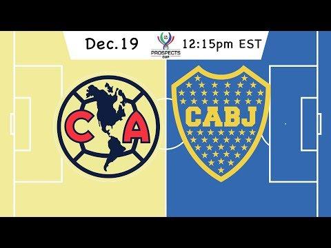 Prospects Cup: Club America vs. Boca Juniors