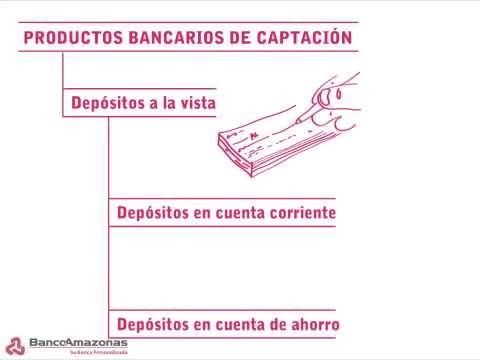 PRODUCTOS BANCARIOS DE CAPTACIÓN