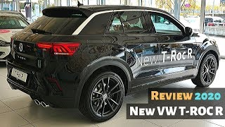 New VW T-ROC R 2020 Review Interior Exterior