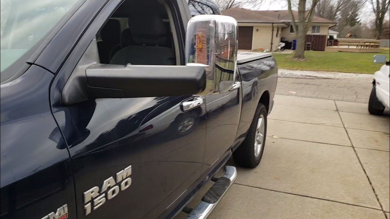 Tow Mirror Upgrade 2015 Dodge Ram 1500 How To Turn On