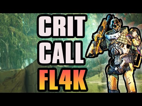 Borderlands 3 Crit Call Fl4k! BEST GITM Critical Fl4k Using Buffed Call Weapons +Game Save  