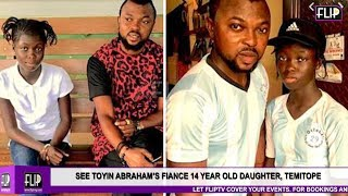 SEE TOYIN ABRAHAMS FIANCES 14 -YEAR-OLD DAUGHTER TEMITOPE