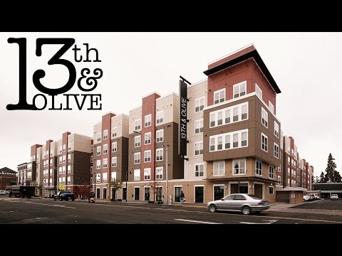 Apartments in Eugene, Oregon – 13th & Olive (University of Oregon)