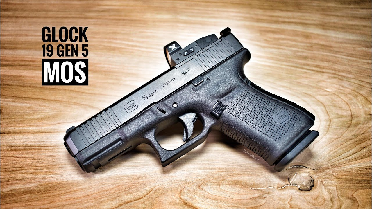 Glock 19 Gen 5 MOS - What The Gen 5 Should Have Been All Along