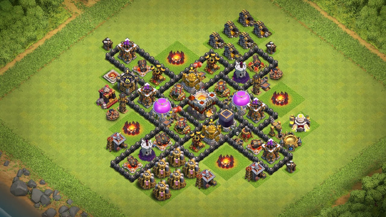 Undefeated Coc Th 7 Best Base 7