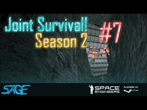 Space Engineers, Joint Survival, S2 #7 (YOU SEE NOTHING!)