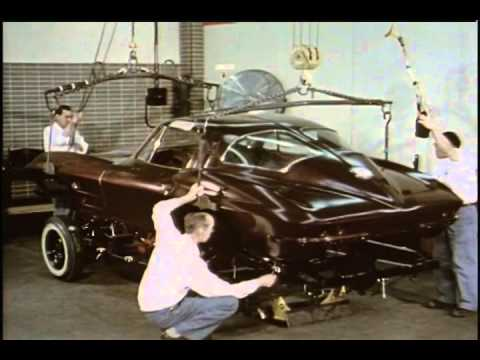 Watch how the 1963 Chevy Corvette Sting Ray prototype was built