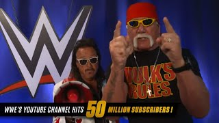 Superstars thank the WWE Universe for 50 million YouTube subscribers