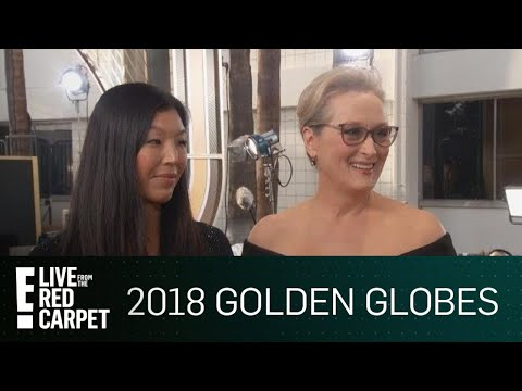 """Meryl Streep Talks """"Power Imbalance"""" at 2018 Globes 