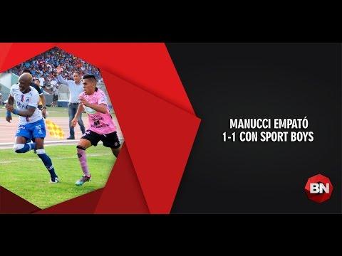 Trujillo: Carlos A. Mannucci 1-1 Sport Boys