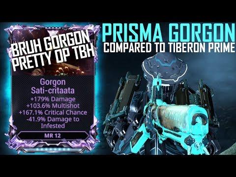 [Warframe] PRISMA GORGON VS TIBERON PRIME [RIVEN MODDED BRUH]