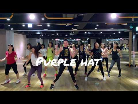 Purple Hat by Sofi Tukker ~~ Fit + Flaunt Burlesque Fitness by Katie