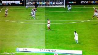 Dinamo Kiev-Arsenal-UEFA Şampiyonlar Ligi Maç Özeti-Pes 2017