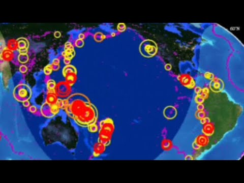69 Major Earthquakes Hit The Pacific's Ring Of Fire In Just 48 Hours
