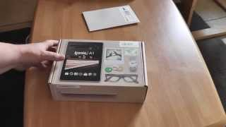 unboxing acer iconia a1 810 tablet deutsch hd 1080