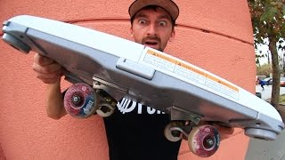 MAKING A NINTENDO WII FIT SKATEBOARD | SKATE EVERYTHING EP 12
