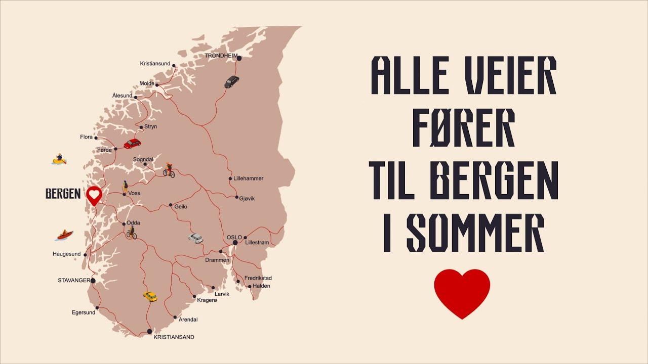 Thumbnail: Bilferie i Norge - Derfor bør du kjøre til Bergen