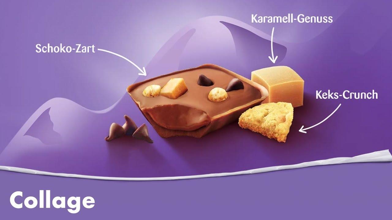 Milka Schokolade Collage