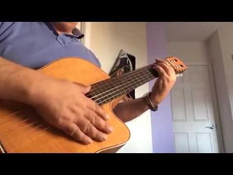 Bigharar Moein Bandari Guitar Coverبیقرار - معین - گیتار
