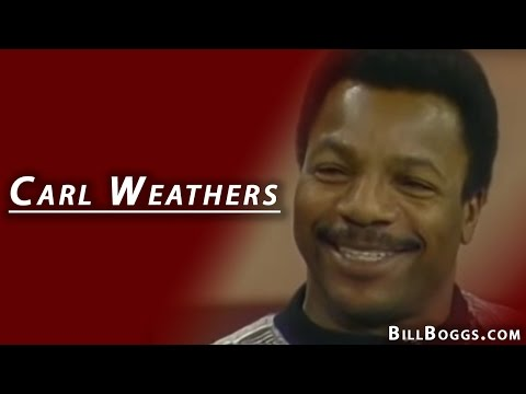 Carl Weathers aka Apollo Creed  with Bill Boggs