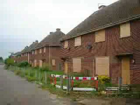 Poverty Amp Inner City Dereliction Of Council Estates In