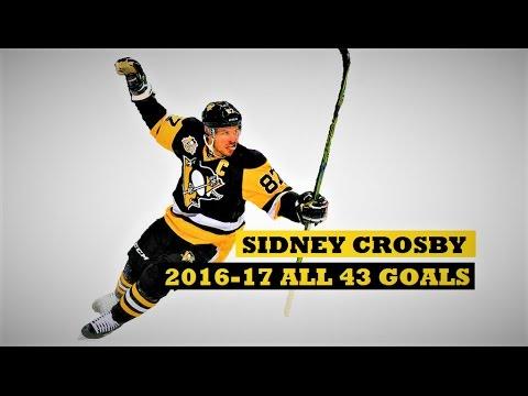 Sidney Crosby (#87) ● ALL 43 Goals 2016-17 Season (HD) - (so far)